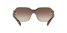 Prada PR 15TS VIQ6S1 LIGHT BROWN Size 48