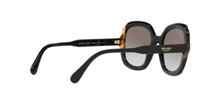 Prada PR 16US HERITAGE 3890A7 BLACK/MEDIUM HAVANA Size 54