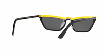 Prada PR 19US CATWALK W195S0 YELLOW BLACK Size 58