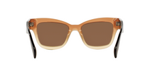 Prada PR 29RS UBI8C1 BROWN GRADIENT Size 51