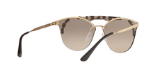 Prada PR 53US ABSOLUTE C3O3D0 GOLD/OPAL SPOTTED BROWN Size 42
