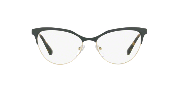 Prada PR 55SV CINEMA UEZ1O1 GREEN/PALE GOLD Size 54
