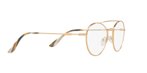 Prada PR 55UV CONCEPTUAL 7OE1O1 ANTIQUE GOLD Size 51