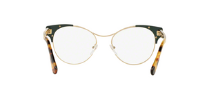 Prada PR 61TV VAY1O1 PALE GOLD/BLUE Size 52