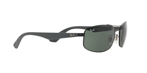 Ray Ban RB3527 006/71 MATTE BLACK Size 61