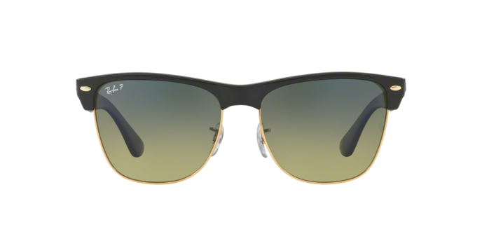 Ray Ban RB4175 CLUBMASTER OVERSIZED 877/76 DEMIGLOSS BLACK Size 57