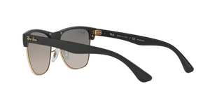 Ray Ban RB4175 CLUBMASTER OVERSIZED 877/M3 DEMI GLOSS BLACK Size 57