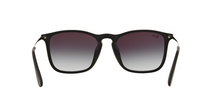 Ray Ban RB4187F CHRIS (F) 622/8G RUBBER BLACK Size 54