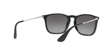 Ray Ban RB4187 CHRIS 631611 BLACK SP RED Size 54