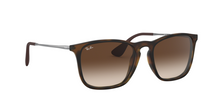 Ray Ban RB4187 CHRIS 856/13 RUBBER HAVANA Size 54