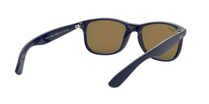 Ray Ban RB4202 ANDY 615355 SHINY BLUE ON MATTE TOP Size 55