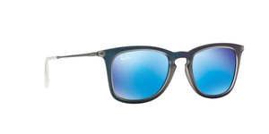 Ray Ban RB4221 617055 SHOT BLUE RUBBER Size 50