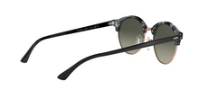 Ray Ban RB4246F CLUBROUND 125571 SPOTTED GREY/GREEN Size 53