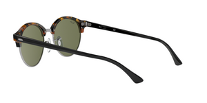 Ray Ban RB4246 CLUBROUND 1157 SPOTTED BLACK HAVANA Size 51