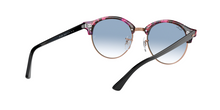 Ray Ban RB4246 CLUBROUND 12573F SPOTTED GREY/VIOLET Size 51
