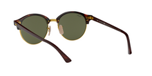 Ray Ban RB4246 CLUBROUND 990 RED HAVANA Size 51