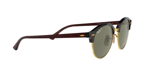 Ray Ban RB4246 CLUBROUND 990/58 RED HAVANA Size 51