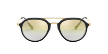 Ray Ban RB4253 6052Y0 TOP BLACK ON TRANSPARENT Size 53