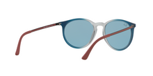 Ray Ban RB4274 6365F7 GRAD BLUE/RUBBER LT GREY TR Size 53