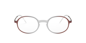 Ray Ban RX7153F 5792 RUBBER BROWN ON BORDEAUX GRAD Size 52