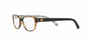 Tory Burch TY2031 3154 YELLOW TORT/BLACK BATIK Size 49