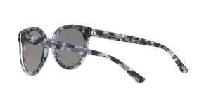 Tory Burch TY7062 PANAMA 168522 BLACK PEARL TORT Size 53