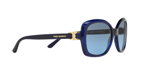 Tory Burch TY7101 15658F NAVY TRANSLUCENT Size 57