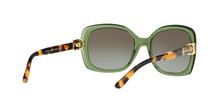 Tory Burch TY7101 16208E BOTTLE GREEN/SPOTTY TORTOISE Size 57