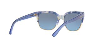 Tory Burch TY7117 17078F BLUE MOONSTONE/GOLD Size 55