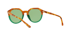 Tory Burch TY7130 1756/2 AMBER TORTOISE / GREEN Size 52