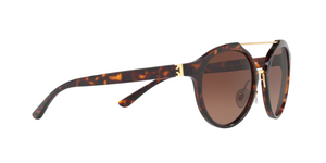 Tory Burch TY9048 1519T5 DARK TORT/GOLD Size 54