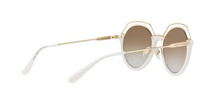 Tory Burch TY9052 17166E IVORY/LIGHT GOLD Size 51