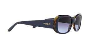 Vogue VO2606S 26474Q TOP BLUE/TORTOISE Size 55