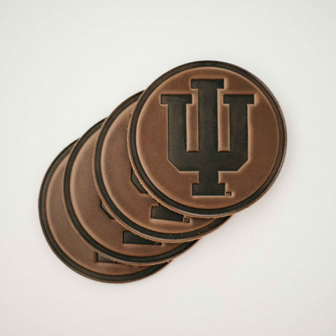Leather IU Coaster