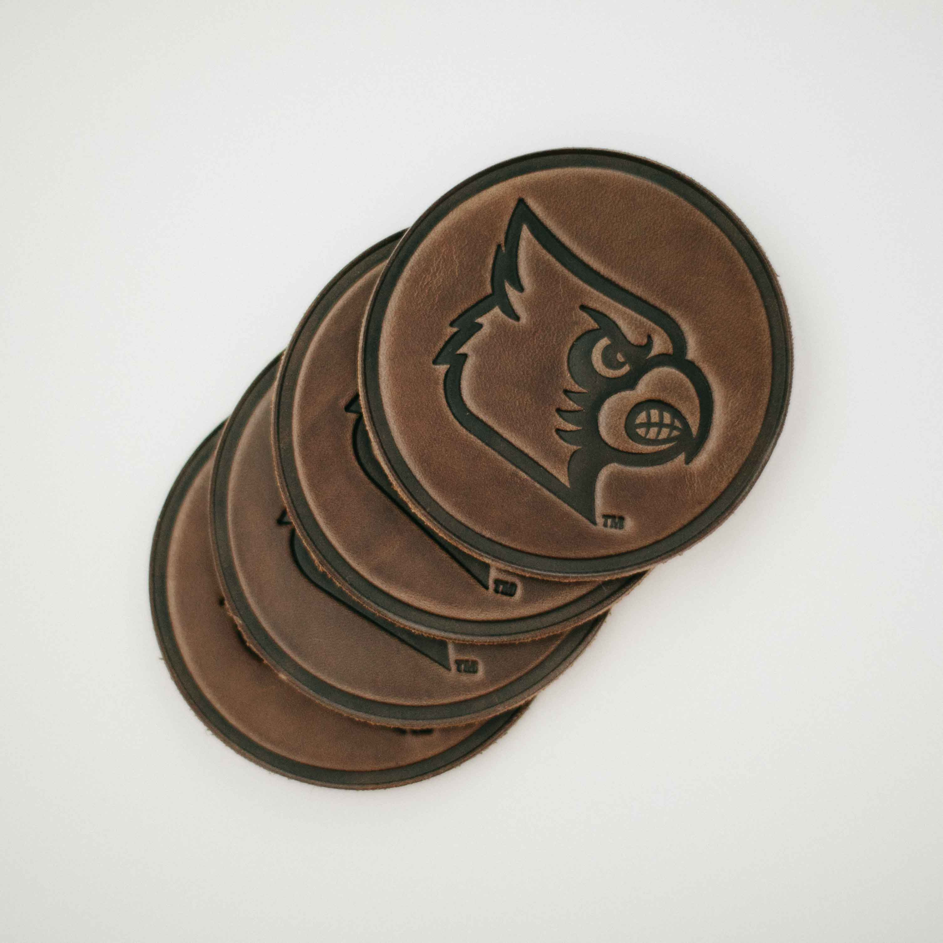 University of Louisville Cardinal Coaster