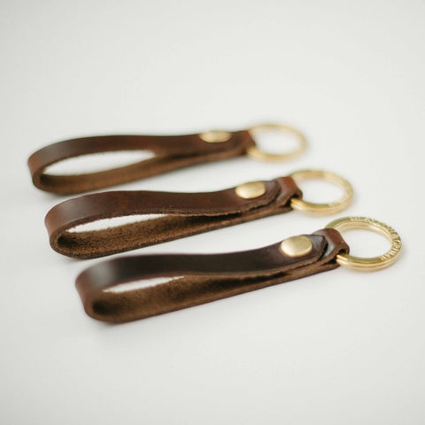 Dark Brown Key Strap
