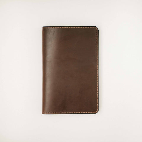 Dark Brown Leather Daybook