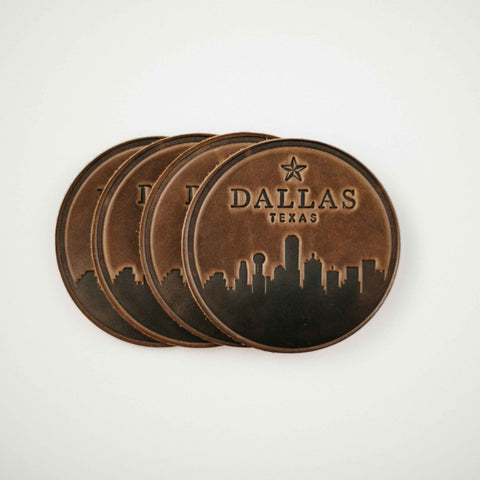 Dallas Skyline Coasters