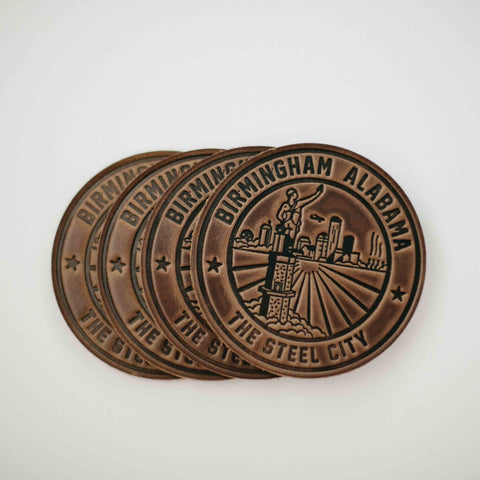 round City of Birmingham Coasters