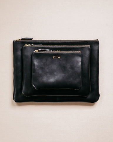 Small Black Utility Bag