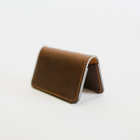 Dark Brown Card Wallet