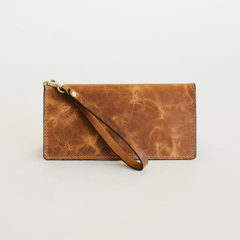 Marbled Whiskey Everyday Wallet