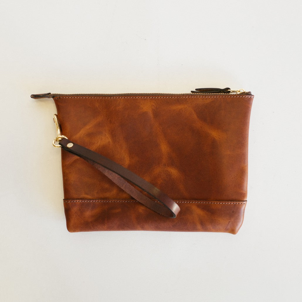Dublin Leather Clutch