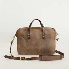 Heathered Saddle Messenger