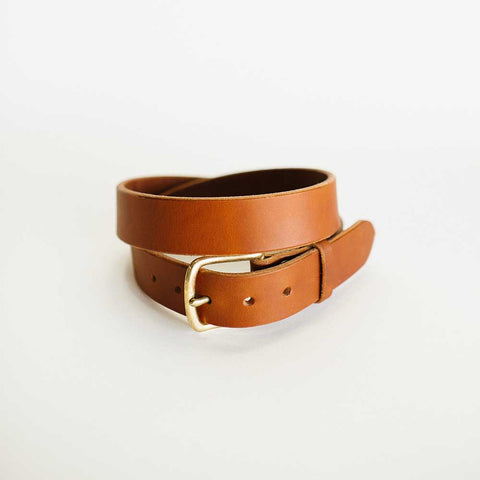 Wide Antique Saddle Belt