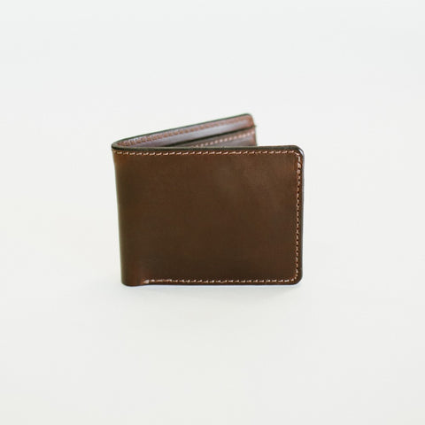 Dark Brown Traditional Bifold Wallet