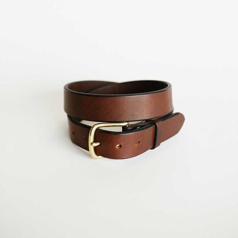 Traditional Brown Bridle Belt