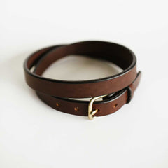 Ladies Brown Bridle Belt