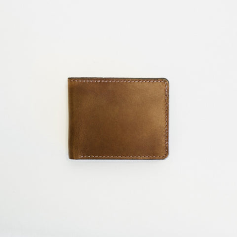 Natural Traditional Bifold Wallet