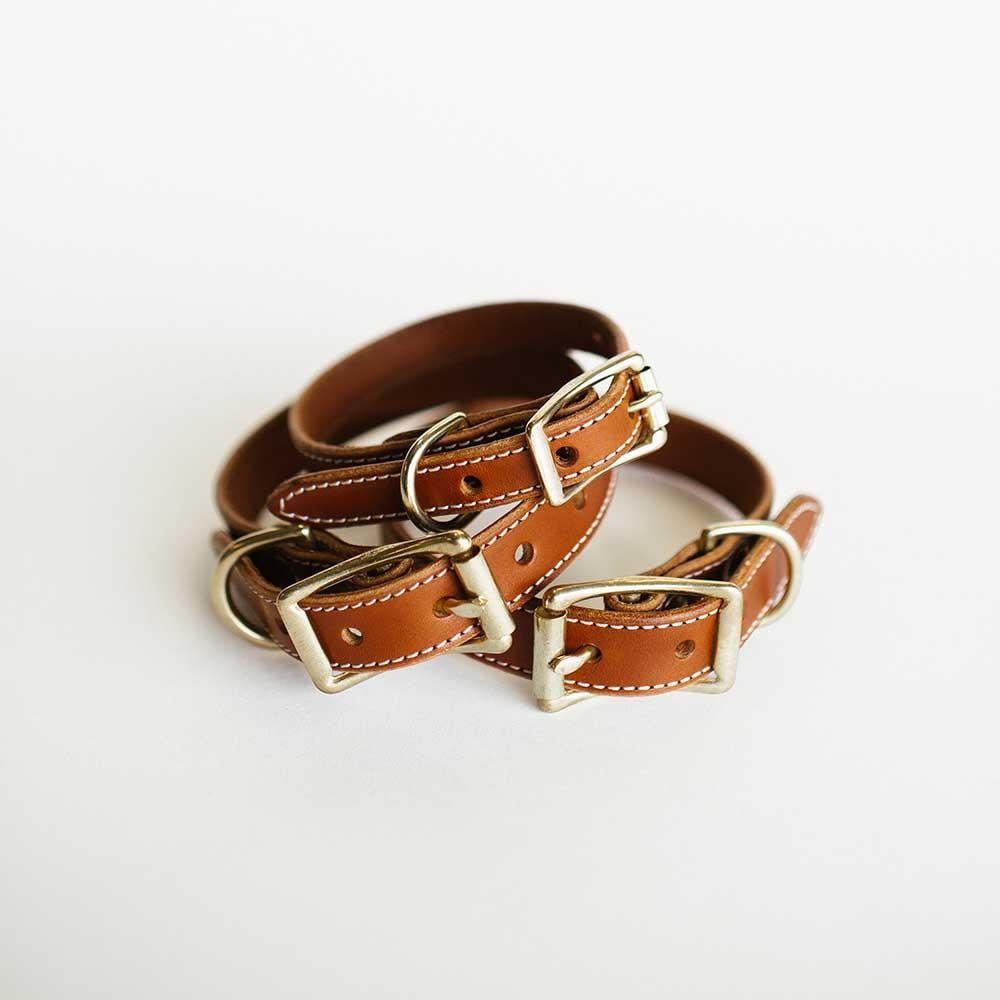Antique Saddle Dog Collar